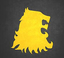 Lannister Lion: BLACK by buselikmakami