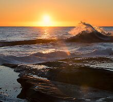 Wave at Sunrise by Jeff Catford