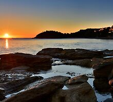 Sunrise over Fairy Bower by Ian Berry
