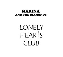 Marina & The Diamonds - Lonely Hearts Club by Daenna