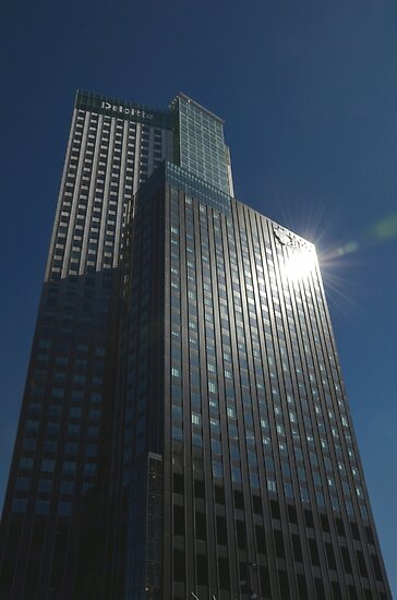 Maastower in Rotterdam by Peter Wiggerman