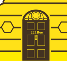 221Bee: Holmes Sweet Home Sticker