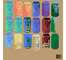 Diet Coke Can IV Photographic Print