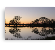 Outback Reflections Canvas Print