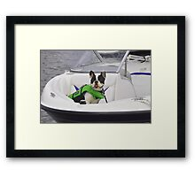 His Mom Loves Him! Framed Print