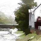 *Raven Ford River Mill* by DeeZ (D L Honeycutt)
