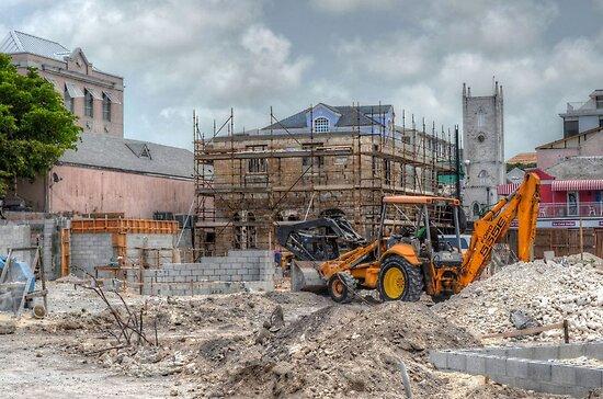 Work to rebuild Pompey Museum - Nassau, The bahamas by 242Digital