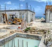 Building Construction in Paradise Island, The Bahamas by 242Digital