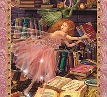 Fairy Dreams greeting card 4 by Carol McLean-Carr
