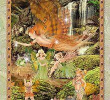 Fairy Dreams greeting card 8 by Carol McLean-Carr