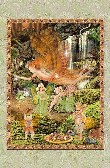 Fairy Dreams greeting card 8 by Carol McLean-Carr