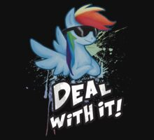 Rainbow Dash Deal With It by Julia Sprenz