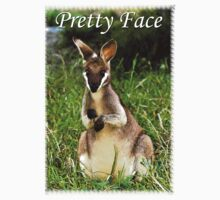 Pretty Face Tee by Julia Harwood