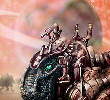 DinoBot by MBJonly