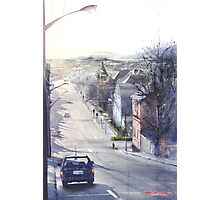 Saturday Arvo - Tamar Street, Launceston Photographic Print