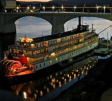 Delta Queen at Night by debidabble