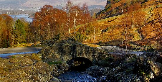 Ashness Bridge  Lake District by Trevor Kersley