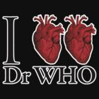 I Heart Heart Dr Who (v.2) by ezcreative
