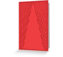 Christmas_card_tree Greeting Card