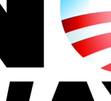 No Way Obama 2012 Sticker