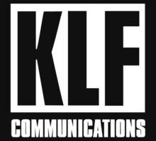 KLF Communications (white bg, black letters) by RetroWorks