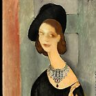 ( MY FUNNY GALLERY...I &amp; MODIGLIANI)       Ah, you thought that i was ... by anaisanais
