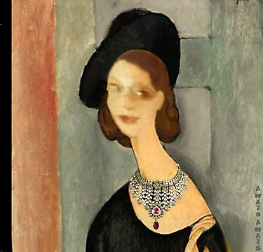 ( MY FUNNY GALLERY...I & MODIGLIANI)       Ah, you thought that i was ... by anaisanais