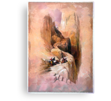 Ascent to the Summit of Sinai Canvas Print