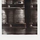 beer barrels by M. van Oostrum