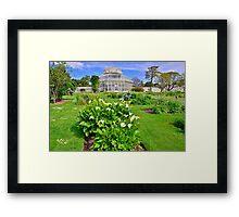 Botanical House & Gardens Framed Print