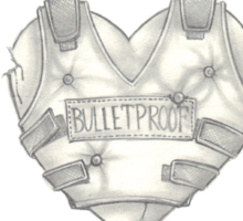 Bullet Proof Sticker
