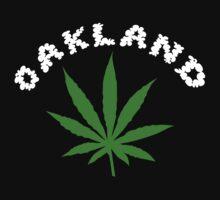 Oakland Marijuana by MarijuanaTshirt