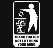 Don't Litter Your Mind by MrKroli