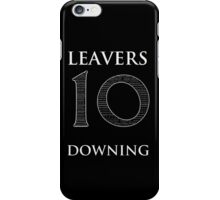 10 Downing Leavers iPhone Case/Skin