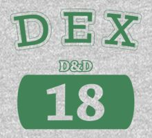 Varsity D&D - DEX 18 Kids Clothes