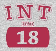 Varsity D&D - INT 18 by theotherjeff