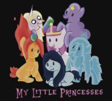 Pony Princesses by TwistedRayne