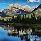 Reflections on the Lakes by Vickie Emms