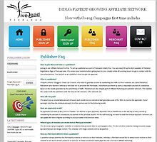 Publisher Ad Network India by fivelead