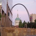 St. Louis Arch at City Garden by harrisedh