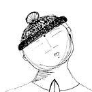 Praying Jizo in Hat... by motherhenna