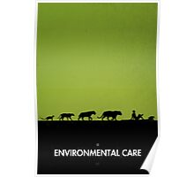 99 steps of progress - Environmental care Poster
