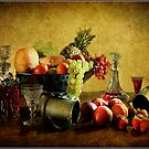 Fruit and Wine  by Irene  Burdell