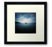 the shipwreck Framed Print