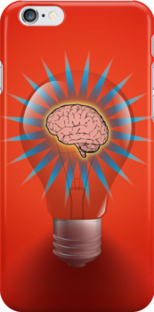 Imagine Red iPhone Case by hmx23