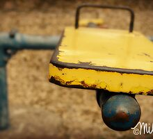 Old Yellah (Playground Series) by milkayphoto