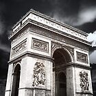 Arc de Triomphe Glow by Stephanie Macwhorter