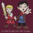 Merlin & Arthur by rexraygun