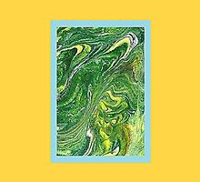 JWFrench Collection Marbled Card 11 by JWFrench