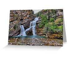 Cameron Falls Greeting Card